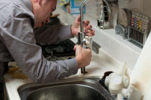 repairing a faucet