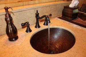 fixing leaking sink